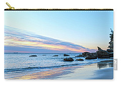 Rocky Daybreak Seascape Carry-all Pouch