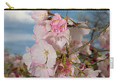 Silicon Valley Cherry Blossoms Carry-all Pouch by Glenn Franco Simmons