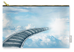 Carry-all Pouch featuring the digital art Stairway To Heaven by Les Cunliffe