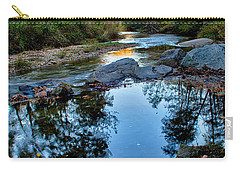 Stone Mountain North Carolina Scenery During Autumn Season Carry-all Pouch