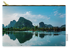 The Karst Mountains And River Scenery Carry-all Pouch