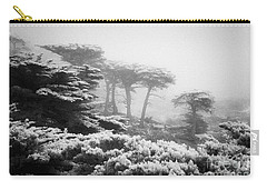 Carry-all Pouch featuring the photograph 17 Mile Drive Cyprus Tress  by Craig J Satterlee