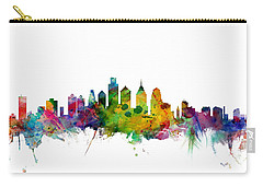 Philadelphia Pennsylvania Skyline Carry-all Pouch by Michael Tompsett