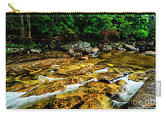 Carry-all Pouch featuring the photograph Williams River Summer by Thomas R Fletcher