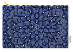 Carry-all Pouch featuring the ceramic art #1701 by Kym Nicolas