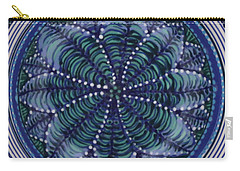 Carry-all Pouch featuring the ceramic art #1702 by Kym Nicolas