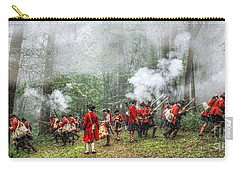 1763 Bushy Run British Counterattack Carry-all Pouch by Randy Steele