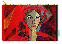 1791 - The Lady In Red 2017 Carry-all Pouch