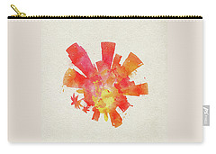 Skyround Art Of Los Angeles, United States Carry-all Pouch