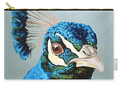 Peacock Carry-all Pouches