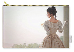 Victorian Woman Carry-all Pouch by Lee Avison