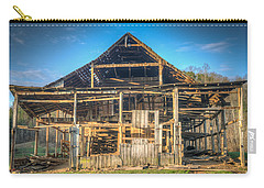 1800s Barn Being Demolished Carry-all Pouch