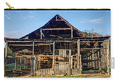 1800s Barn Being Dismantled Carry-all Pouch