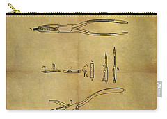 1848 Dental Forceps Patent Carry-all Pouch by Dan Sproul