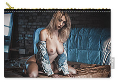 Carry-all Pouch featuring the photograph 1867 by Traven Milovich