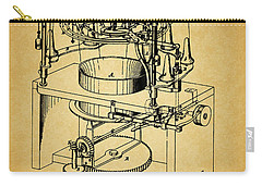 1871 Rotary Knitting Machine Carry-all Pouch by Dan Sproul
