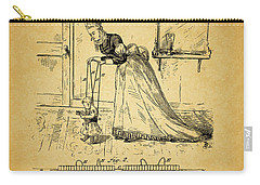 1874 Baby Exercising Corset Carry-all Pouch by Dan Sproul