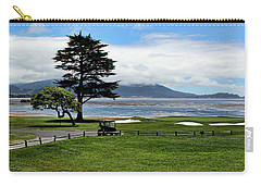 18th At Pebble Beach Horizontal Carry-all Pouch