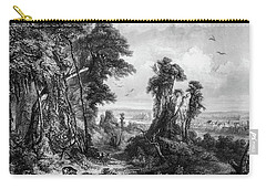 18th Century Farm Village Carry-all Pouch