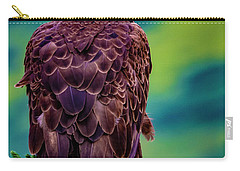 Carry-all Pouch featuring the photograph Bald Eagle by Norman Hall