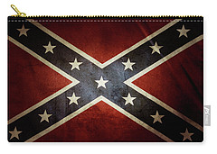 Confederate Flag 12 Carry-all Pouch