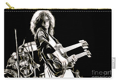 Jimmy Page Collection Carry-all Pouch by Marvin Blaine