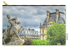 Carry-all Pouch featuring the pyrography Paris by Yury Bashkin