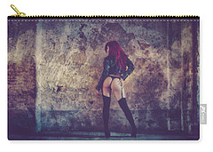 Pretty Things Are Going To Hell Carry-all Pouch by Traven Milovich