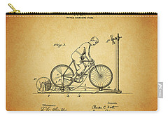 1900 Bicycle Exercise Stand Carry-all Pouch by Dan Sproul