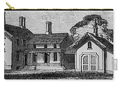 1900 Country Home With Garage Carry-all Pouch