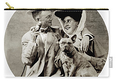 1900 Happy Young Couple Carry-all Pouch
