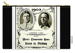 1903 World Series Poster Carry-all Pouch
