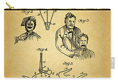 1904 Dental Forceps Patent Carry-all Pouch by Dan Sproul
