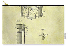 1905 Drum Patent Carry-all Pouch by Dan Sproul
