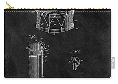 1905 Drum Patent Illustration Carry-all Pouch by Dan Sproul