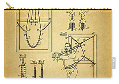1905 Exercise Apparatus Patent Carry-all Pouch by Dan Sproul