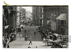 1910 State Street Traffic Boston Carry-all Pouch