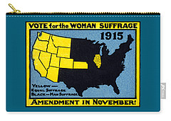 1915 Vote For Women's Suffrage Carry-all Pouch