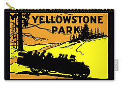 1920 Yellowstone Park Carry-all Pouch