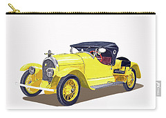 1923 Kissel Kar  Gold Bug Speedster Carry-all Pouch by Jack Pumphrey