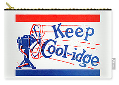 1924  Keep Coolidge Poster Carry-all Pouch