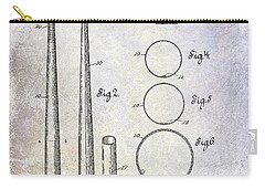 1926 Baseball Bat Patent Carry-all Pouch