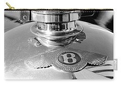 1927 Bentley Hood Ornament 2 Carry-all Pouch by Jill Reger