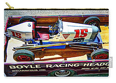 1927 Miller 91 Rear Drive Racing Car Carry-all Pouch