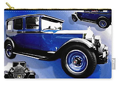 Carry-all Pouch featuring the photograph 1927 Packard 526 Sedan by Sadie Reneau