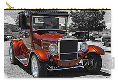 1928 Ford Coupe Hot Rod Carry-all Pouch by Chris Thomas