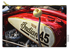 1928 Indian Scout Gas Tank Carry-all Pouch by Mike Martin