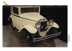 Carry-all Pouch featuring the digital art 1930 American Austin 5 Window Coupe by Chris Flees