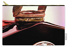Carry-all Pouch featuring the photograph 1931 Ford Truck Quail by Trey Foerster