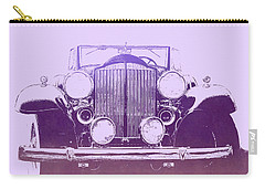 1932 Packard Pop Art Violet Gradient Carry-all Pouch